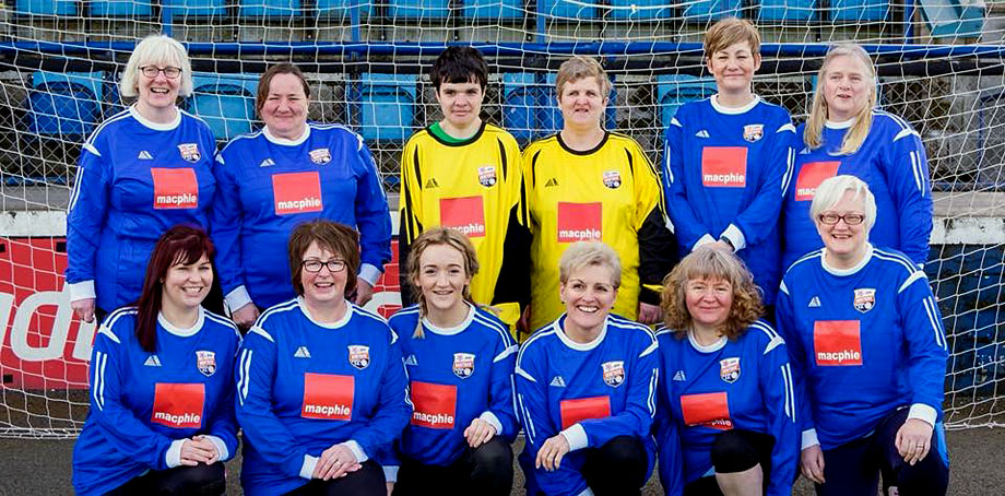 Montrose ladies enter into the fun Festival