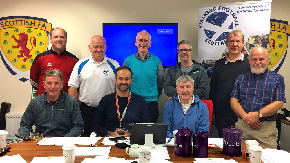 Focus group meeting in Dundee