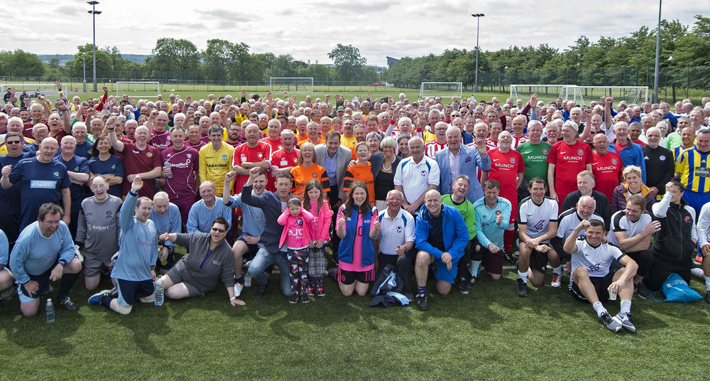 Some of the crowd from last years Cup and Festival