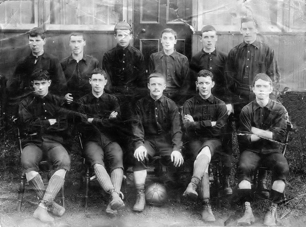 Vale of Leven players circa 1880-88. Courtesy of VOL