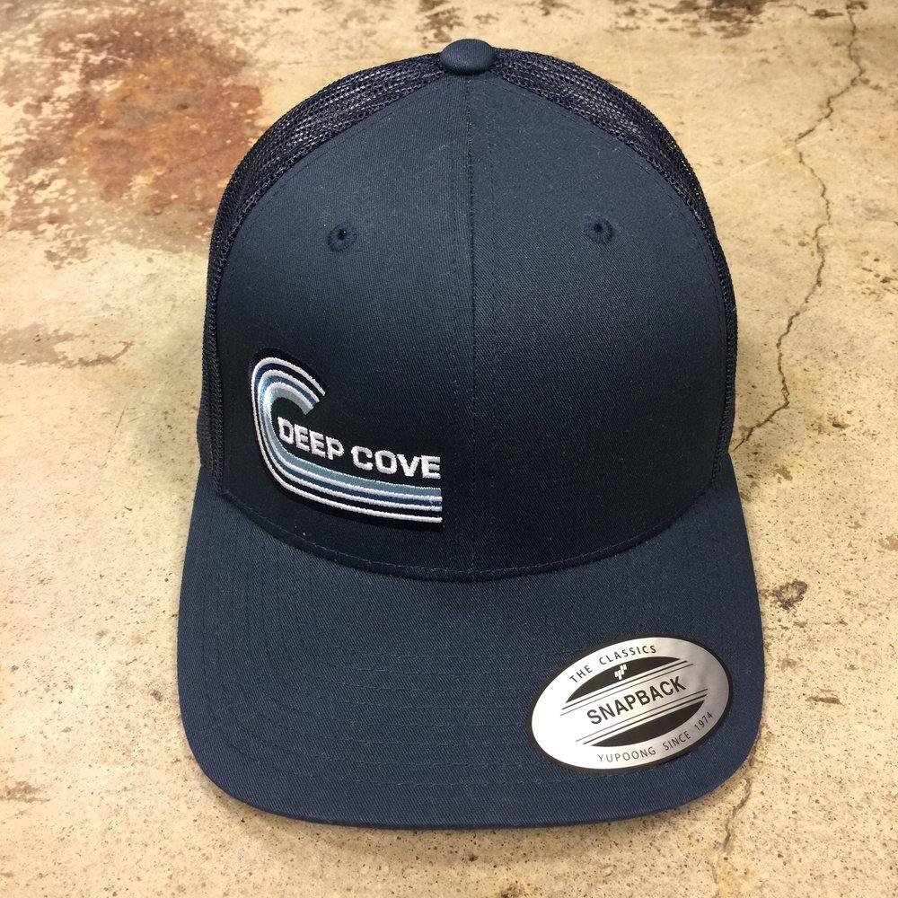 Deep Cove Wave Trucker Hat — Common Ground - Lower Case Ltd 07a705e3c6c