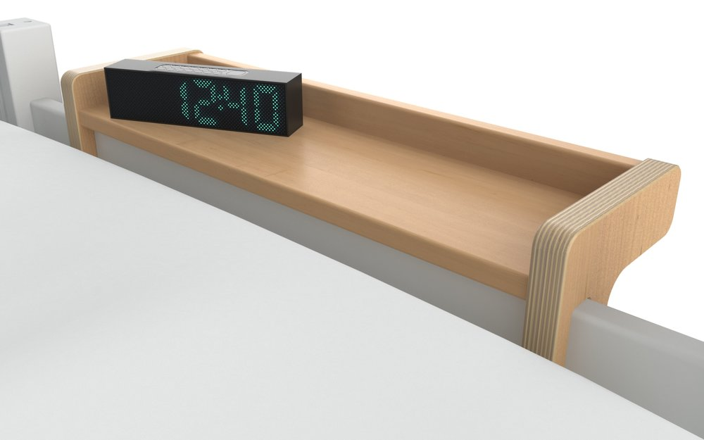 new - HBS Hook-on Bed Shelf