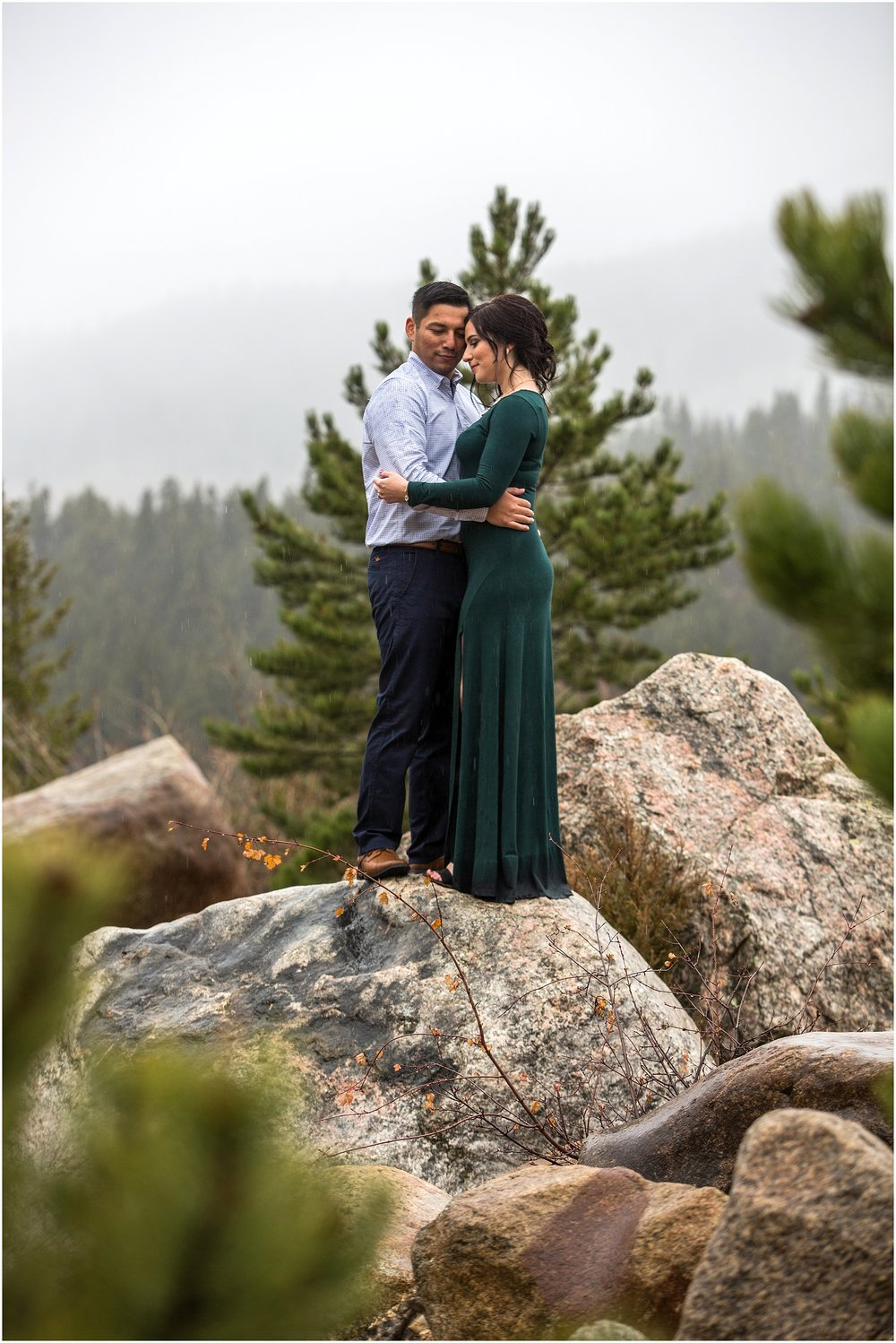 RMNP Engagement photography