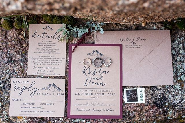 You literally cannot go wrong with recylcled paper stationary, simple graphics and a caligraphy font. Bullet proof recipe. 🙌 Planner:@theperfecttouch_co Ceremony:@blackcanyoninnweddings Reception:@twinowlssteakhouse  Glam:@estesparkbridalco  Dress:@justinalexander ⠀⠀⠀⠀⠀⠀ Tux:@generationtux Florals:@enchantedflorist.weddings⠀⠀⠀⠀⠀⠀ DJ:@gottadancedjs⠀⠀ Video:@weddingvideoscolorado .⠀⠀⠀⠀⠀⠀⠀⠀⠀ .⠀⠀⠀⠀⠀⠀⠀⠀⠀ .⠀⠀⠀⠀⠀⠀⠀⠀⠀ .⠀⠀⠀⠀⠀⠀⠀⠀⠀ .⠀⠀⠀⠀⠀⠀⠀⠀⠀ #nowbooking #weddingphotography #weddingphotographer #shesaidyes #awards #couplegoals #engagementsession #gettinghitched #futuremrandmrs #brideandgroom #authenticlovemag #howheasked #engagedlife #estesparkwedding #coloradowedding #rockymountainbride #estespark #estesparkweddingphotographer #coloradobride #mountainbride #coloradoengagementphotographer #theknot #soloverly #estesparkbride #dreamteamepwa #coloradoportraits #greenweddingshoes #bridetobe2020
