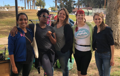 selah team at hygiene kit drive.png