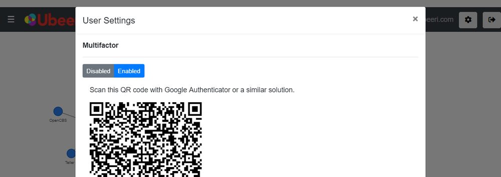 Turning on multifactor authentication
