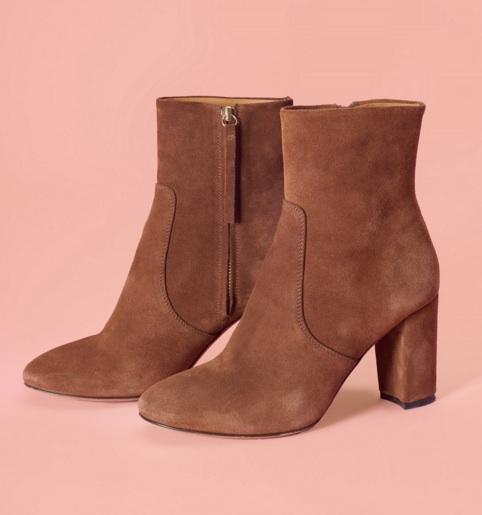 ROUJE   Brigitte Brown Boots