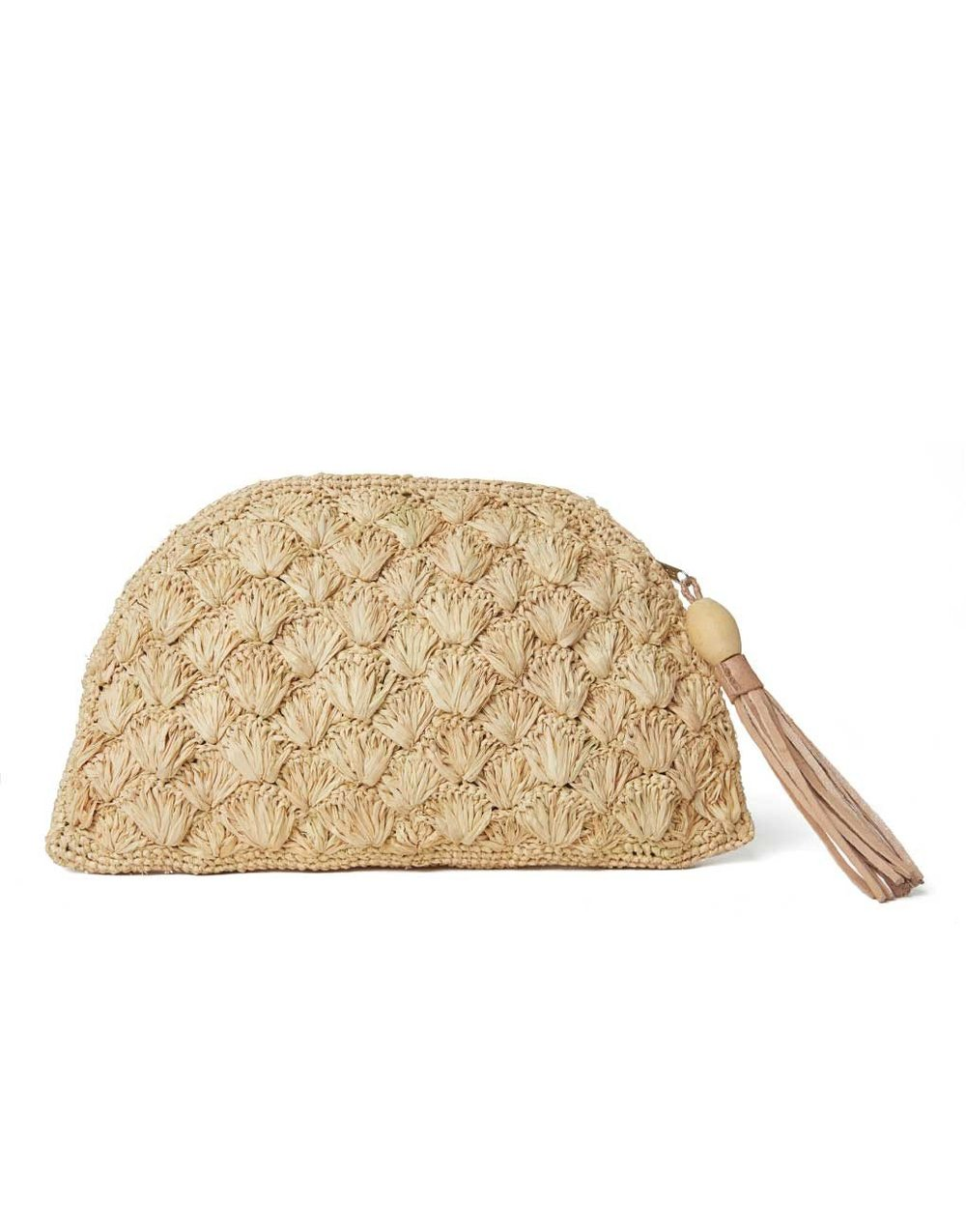 THE LITTLE MARKET   Deep Sea Clutch - Sand