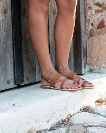 PTERNA   Handmade Greek Leather Sandals