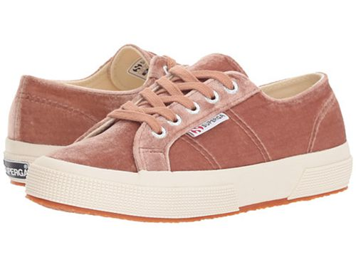 SUPERGA   Women's Velvet Sneakers