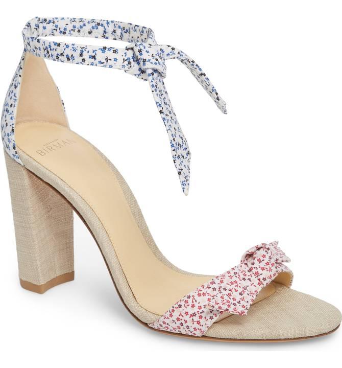 ALEXANDRE BIRMAN   Clarita Knotted Sandal
