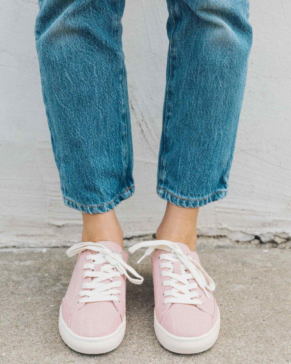 SOLUDOS   Ibiza Linen Sneaker