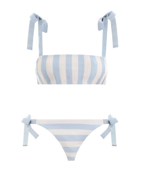 ZIMMERMAN   Helm Tie Bandeau Bikini