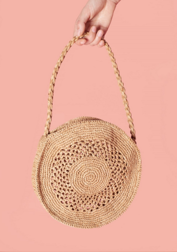 ROUJE   Capri Basket Bag