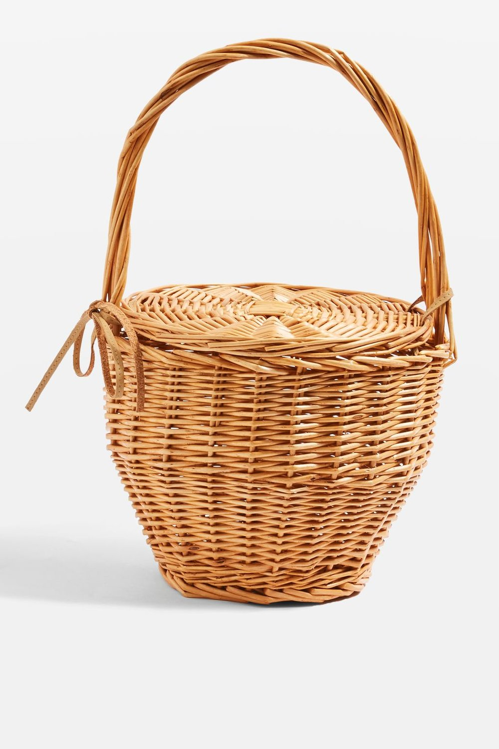 TOPSHOP   Shelly Straw Basket Bag