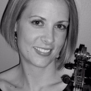 Stephanie Cathcart,  violin