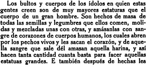 Image 3: An excerpt from Cartas de relacion, pp 103.