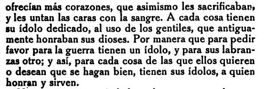 Image 4: An excerpt from Cartas de Relation, pp 104.