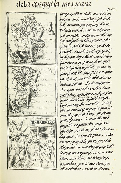 Image 5: An excerpt from the Florentine Codex by Gary Francisco Keller, artwork created under supervision of Bernardino de Sahagún between 1540–1585. (The Digital Edition of the Florentine Codex) [CC BY 3.0 ( http://creativecommons.org/licenses/by/3.0 )], via Wikimedia Commons