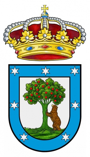 El Oso y el Madroño, or, the Bear and the Strawberry Tree is the official coat of arms of Madrid, Spain.