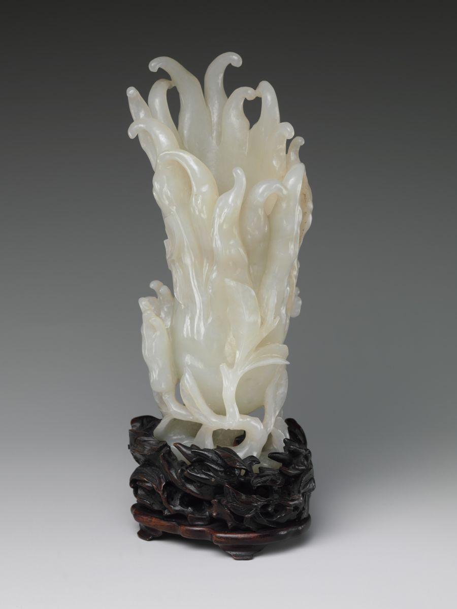 Jade Budda's Hand Sculpture