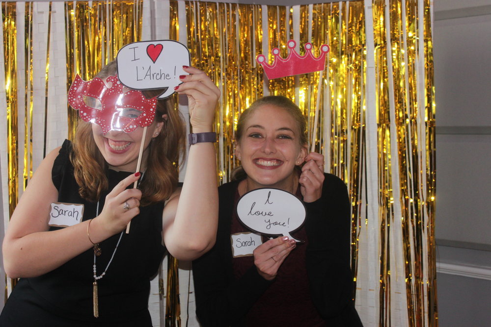 The Sarah(s) love L'Arche!