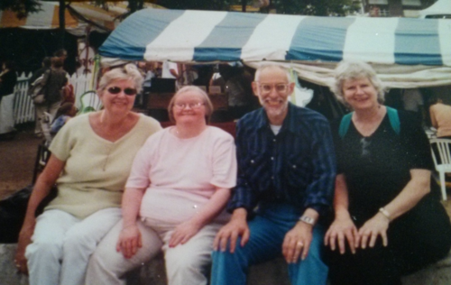Marnie Bell, Patsy Ramsey, Mel Kirzner, Mary Jane Kelley of L'Arche Toronto