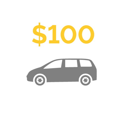 Fills up the tank of a L'Arche van for a month - Enabling dependable transportation for community integration and coordinated health care