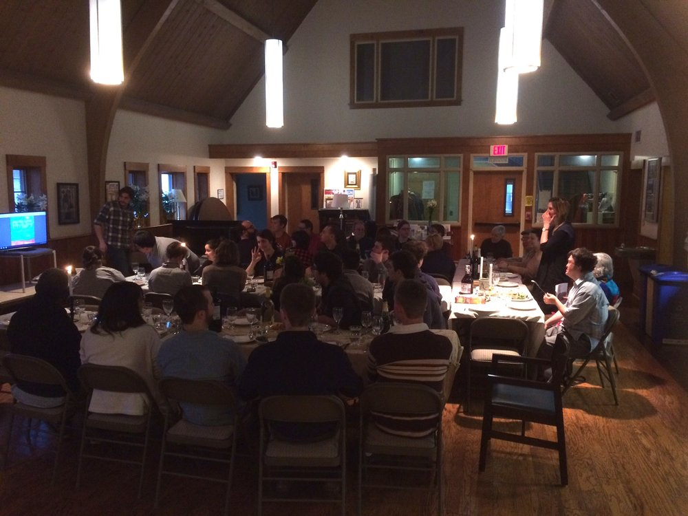 Gathered for Passover Seder