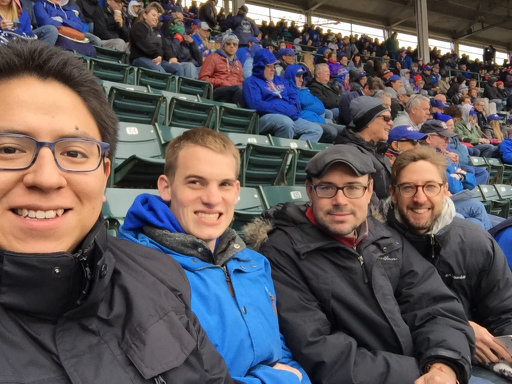 Baseball fans!