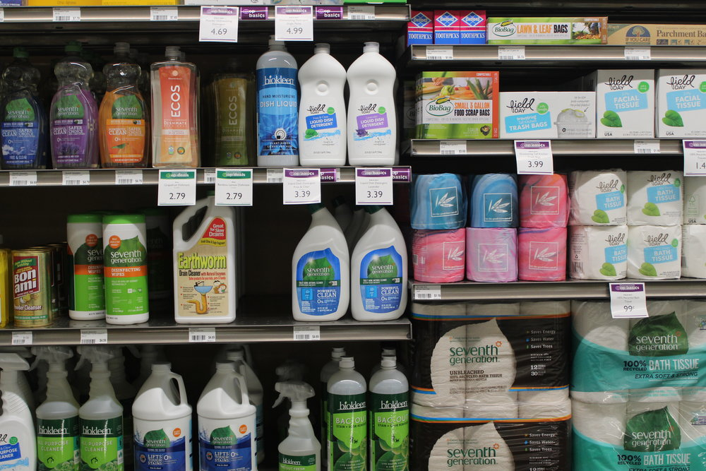 Household Products - Keep your living space as clean as your diet with our sweet selection of cleaning and paper products.