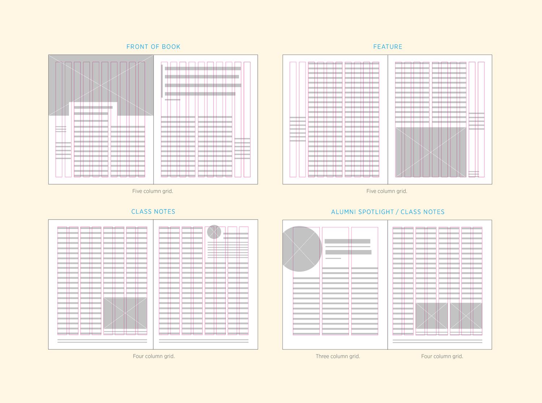 Goucher magazine post typography magazinegridsystemdiagramg ccuart Images