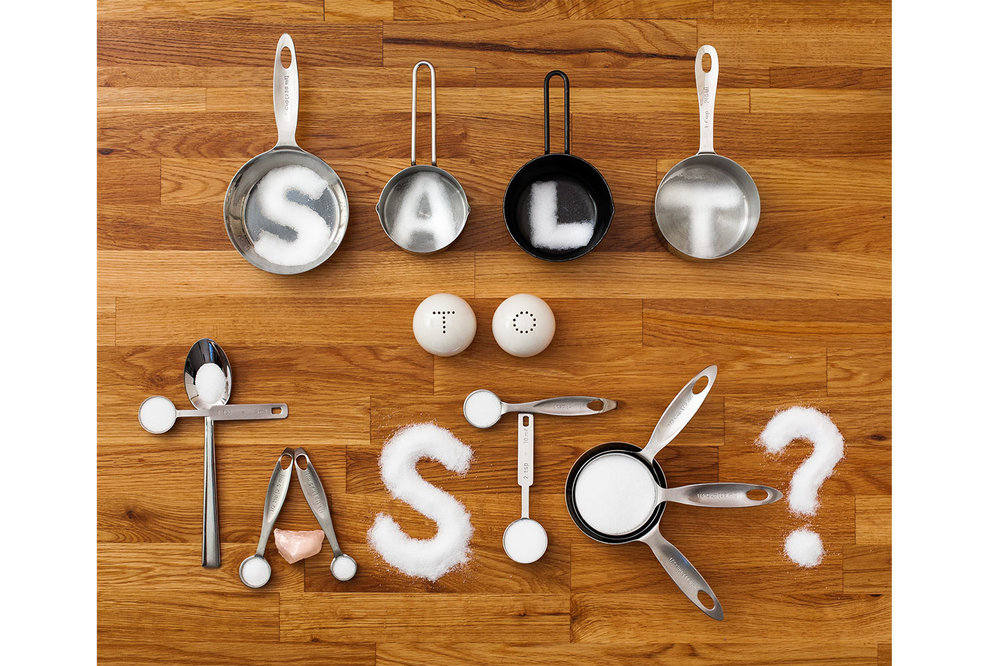 "The vagaries of salting ""to taste.""  Washington Post  Food, Art Director: Kim Vu"
