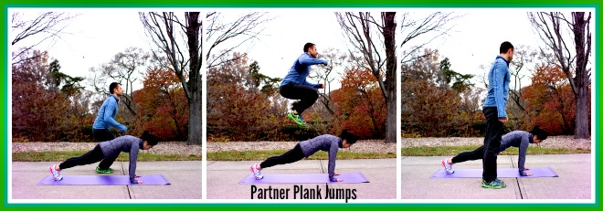 Partner Plank Jumps Final