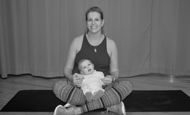Strong Moms client, Megan and duaghter, Scarlett