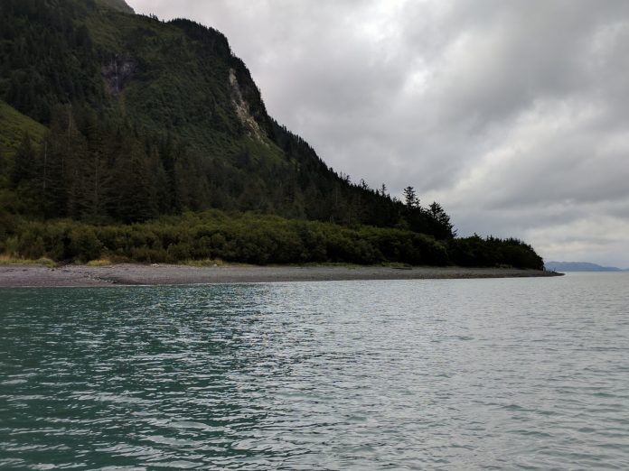 Shepard Point, a deep-water access site near Cordova. The U.S. Army Corps of Engineers has approved construction of oil spill response facility with access to the all-weather airport at Shepard Point, Native Village of Eyak announced on Oct. 16. Photos courtesy Native Village of Eyak
