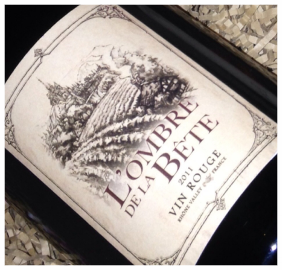 L'ombre de la Bete Rhone Valley Vin Rogue (Shadow of the Beast)