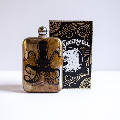 Kraken Flask [$65] by way of     Minka