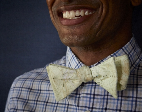Custom Coordinate Bowtie [$129] by way of   Bowtie.com