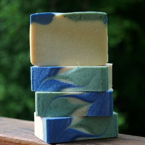 Tea Tree & Mint Goat's Milk Soap [$6.50] by way of   Maine Naturals