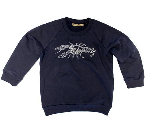Kids Lobster Sweatshirt [$28] by way of   Milo in Maine