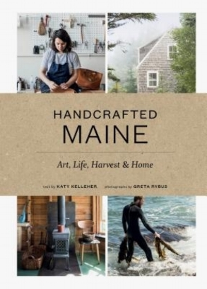 Handcrafted Maine (Hardcover) [$40] by way of   Print