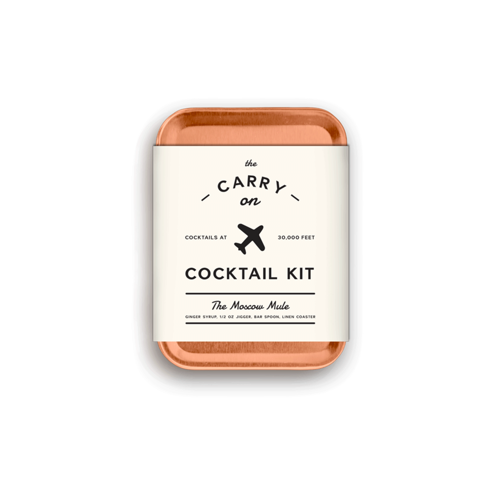 Carry-on cocktail kit by  This is Ground