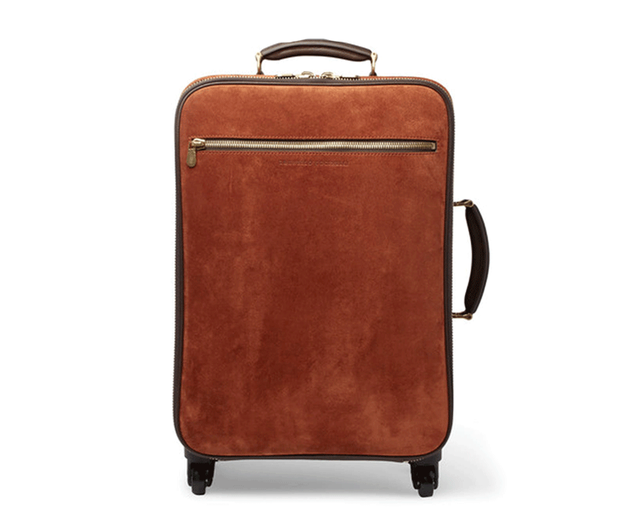 Carry-on Suitcase by  Bruno Cucinelli,  available at Mr Porter