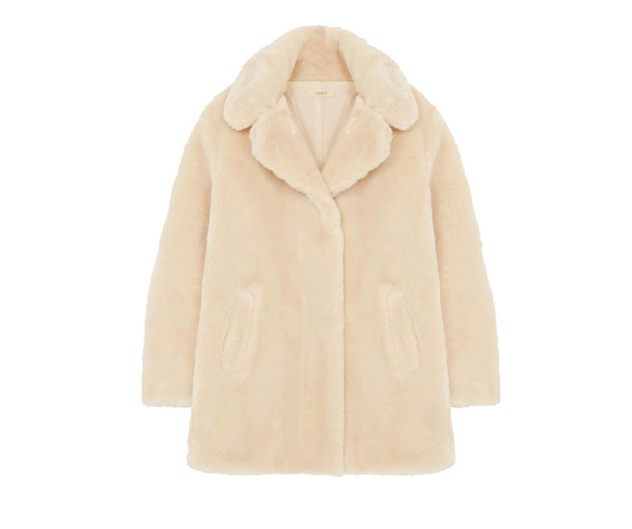 Fake Fur coat by  BA&SH