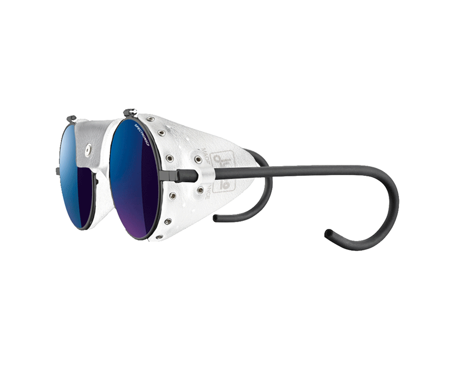 Glasses by  Julbo,  available at Alpin Store