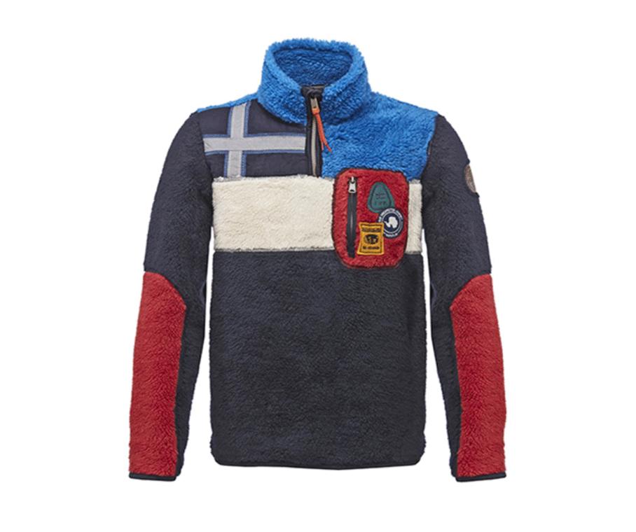 Fleece sweater by  Napapijri