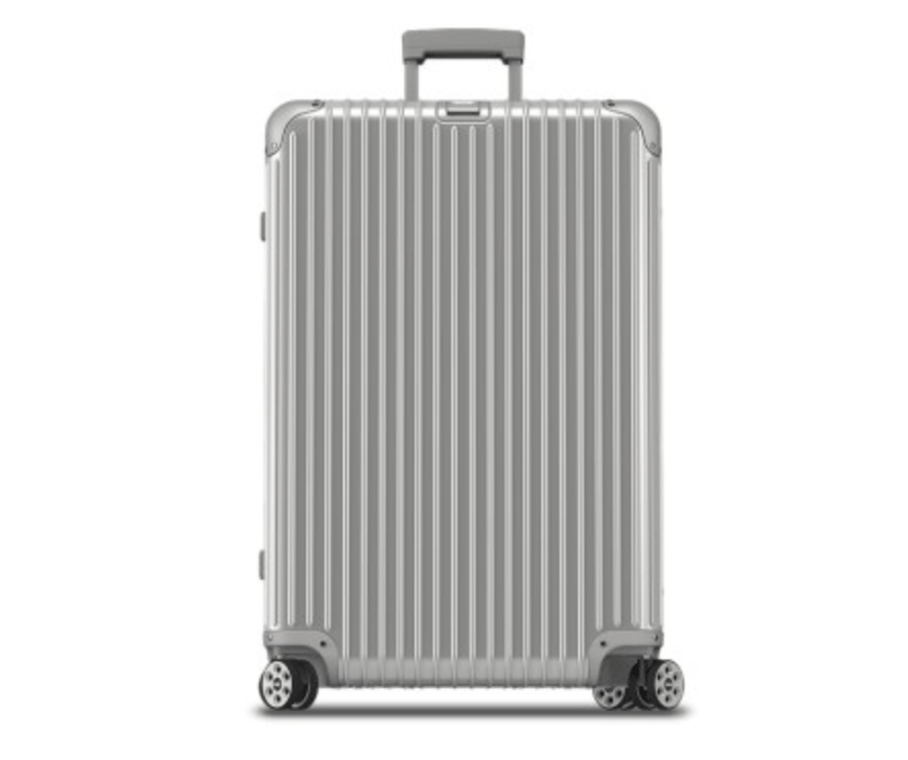 Suitcase by  Rimowa,  available at La Voyagerie Paris