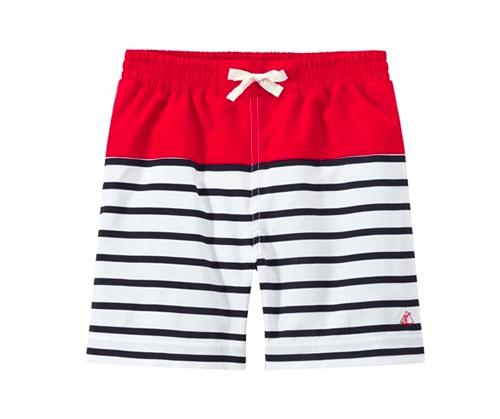 Beach shorts by  Petit Bateau