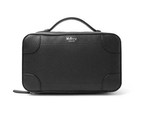 Wash bag by  Mulberry,  available at Mr Porter